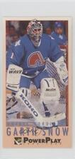 1993-94 Fleer Power Play #425 Garth Snow Quebec Nordiques Rookie Hockey Card