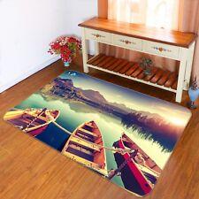 3D Lake Scenery 2010 Non Slip Rug Mat Room Mat Quality Elegant Photo Carpet AU