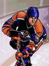 Wayne Gretzky Edmonton Oilers Painting Hockey Huge Giant Wall Print POSTER