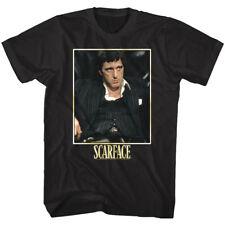 Scarface Tony Montana Bad Guy Men's T Shirt Movie Villain Al Pacino Cuban