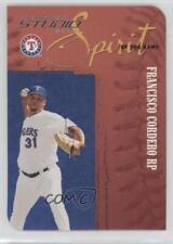 2005 Donruss Studio Spirit of the Game Die-Cut #SOG-5 Francisco Cordero Card