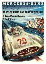 MERCEDES Benz Racing, vecchia rivista Pubblicità, POSTER, Wall Art, la riproduzione.
