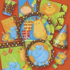 Giungla Party Compleanno per Bambini Animali Compleanno Jungle Decorazione Zoo Safari Set