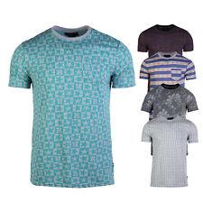 Men Casual Print Short Sleeve Regular Fit Comfort Soft Pocket Tees T-shirts S-XL