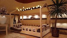 HAUSBETT KINDERHAUS Bett für Kinder,Kinderbett mit SCHUBLADE,SICHERHEITBARRIEREN