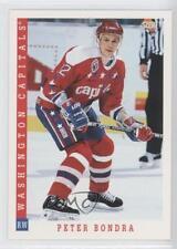 1993-94 Score American #344 Peter Bondra Washington Capitals Hockey Card