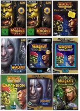 Warcraft - WoW - PC nur 1 Spiel auswählen Kult Spiel Warcraft 2 3 Battle.Net usw