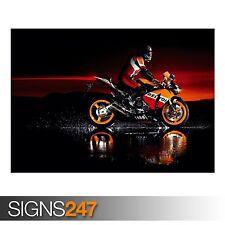 HONDA (AC380) POSTER MOTO-FOTO foto poster Arte Stampa A0 A1 A2 A3 A4