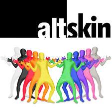 NEW ZENTAI SUIT-FULL BODY SPANDEX/LYCRA COSTUME-ALTSKIN-RED BLUE GREEN BLACK
