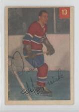 1954-55 Parkhurst #13.1 Paul Masnick (Base) Montreal Canadiens Hockey Card