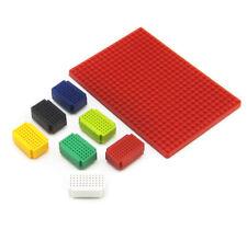 7pcs Mini 55 Points Breadboard Solderless Prototype + PCB Adapter Board ASS