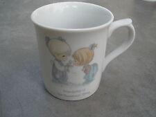 Precious Moments Friendship is the Sweetest Thing Coffee Mug 1985 Samuel Butcher