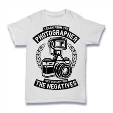 Fotógrafo Camiseta los aspectos negativos S-3XL