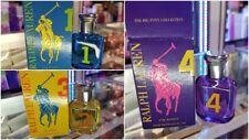 Ralph Lauren The Big Pony Collection for Women # 1, 3, 4 Mini Perfume 0.5oz 15ml