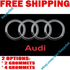 Audi Logo Flag Banner 3x5 ft Racing Car Shop Garage Wall Decor Sign 2019 NEW