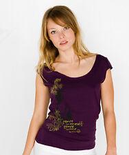 NEWTG DIY American Apparel yoga Buddha Peace shirt top