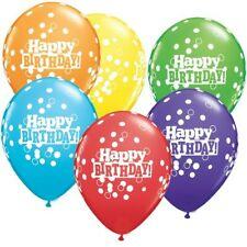 Happy Birthday Confetti Dots Balloon 1 x 28cm Decoration Birthday Party Supplies