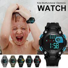 Kids Multifunctional Electronic Watch Sports Waterproof Child/Boy's/Girl Watches