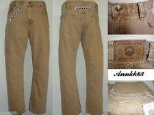 NWT Eddie Bauer Men's Authentic Denim Jeans Straight Fit Khaki 32 to 42 $49.95