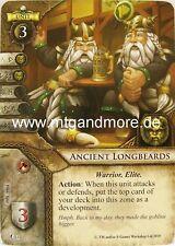 Warhammer Invasion - 2x Ancient Longbeards  #001