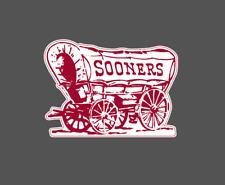 Oklahoma Sooners Vintage 1952-1966 NCAA Football Vinyl Decal