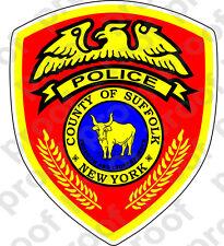 STICKER Sufflok New York Police Department