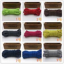 (1,25€/m) 3 Meter Baumwoll Kordel Ø ca. 8mm Baumwoll Seil Schnur viele Farben