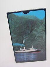 Cunard QE 2 Queen Elizabeth II Ship Vintage Deck of souvenir Playing Cards NIP