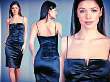 "25"" waist - NICOLE MILLER cocktail dress 4P NWT kim kardashian blue red"