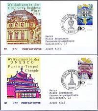 BRD 1998: Kulturerbe! FDC Nr 2007+2008 mit Bonner Sonderstempeln! Gelaufen! 1805