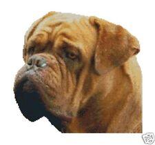"""BULL Mastiff francese contati CROSS STITCH KIT 11.5 """"x11"""""""