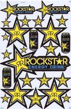 New Rockstar Energy Motocross ATV Enduro Racing Graphic stickers/decals. (st81)