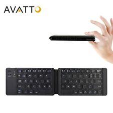 AVATTO Light-Handy Russian/English Bluetooth Folding Keyboard,Foldable Wireless