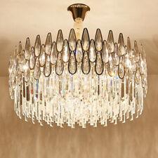 modern round LED Luxury Living Room Crystal Chandelier Restaurant light #960