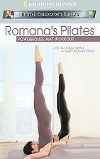 Romanas Pilates - Power House Mat Workout (DVD, 2004) Brand New!