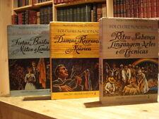 Alceu Maynard ARAUJO Floclore Nacional  3 volumes 1964
