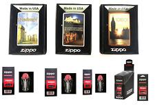 Zippo Lighter London Genuine Life Time Guarantee  USA