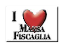 CALAMITA EMILIA ROMAGNA FRIDGE MAGNETE SOUVENIR I LOVE MASSA FISCAGLIA (FE)