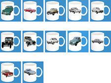 300ml Keramik Becher mit Motiv: DKW Auto Union Modelle Kaffee Tasse Car