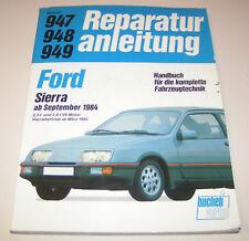 Reparaturanleitung Ford Sierra mit 2,3 l / 2,8 l - V6 Motoren - ab 1984!