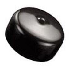Caplugs VC-812-8 Vinyl Round Black Screw Thread Cap (Qty:5,10,25,50,100)