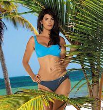Elegant & Sexy Soft Bügel-Bikini Self Gr.42-44,Cups 80 C-90 D (808 T,B ) Neu