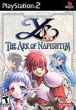 Ys: The Ark of Napishtim (Sony PlayStation 2, 2005)complete