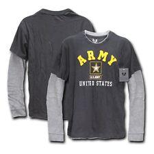 Rapid Dominance Men`s Highlight Layered Tee Military Marine Army T-Shirts Tees