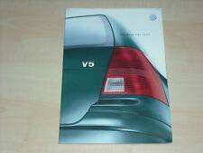 37511) VW Bora Variant Prospekt 10/1999