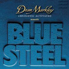 Dean Markley Blue Steel Cuerdas para guitarra acústica con una variedad de calibres