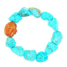 * Chinese New Year Feng Shui * Laughing Buddha & Turquoise Bracelet