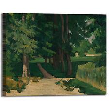 Cezanne viale al jas de bouffan quadro stampa tela dipinto telaio arredo casa