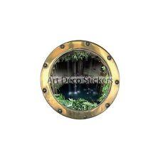 Sticker trompe l'oeil Chutes d'EAU réf:hublot 1417