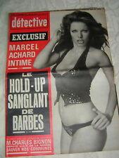 Détective 1974 SAINT QUENTIN SAVIGNY SUR CLAIRIS ACHARD